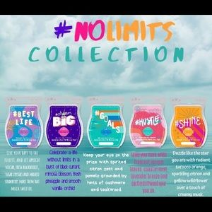 No Limits Scentsy Wax Collection